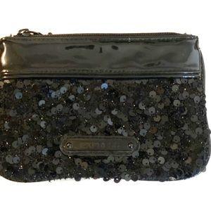 Express : Black sequin wristlet
